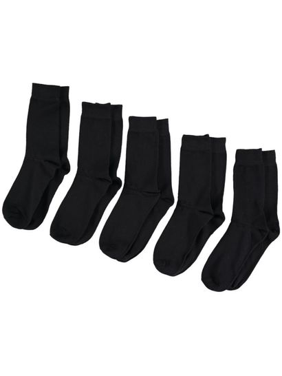 Mens 5Pk Business Socks