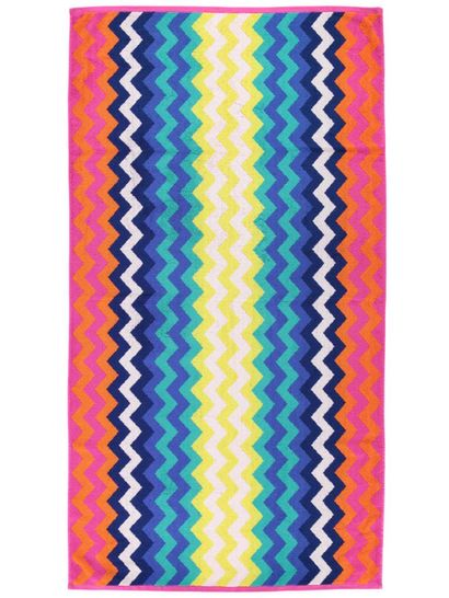 Jacquard Terry Beach Towels