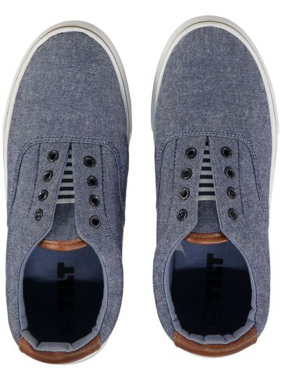 Boy Chambray Slipon