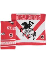 2Pk Dragons Velour Tea Towel