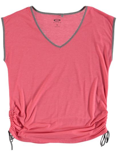 Plus Elite Ruched Hem Tee Womens