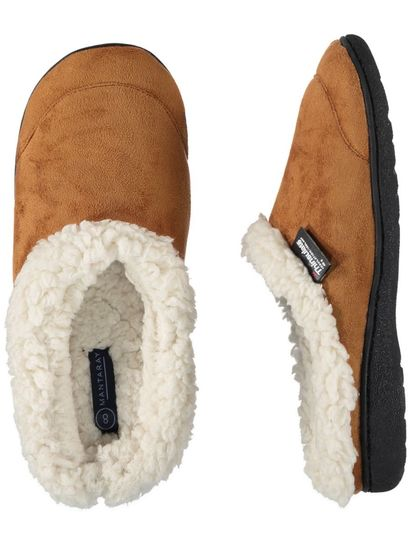 Mens Thinsulate Scuff Slipper