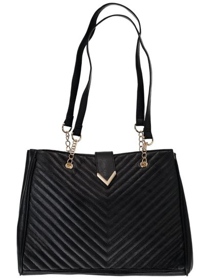 Black Chain Strap Handbag