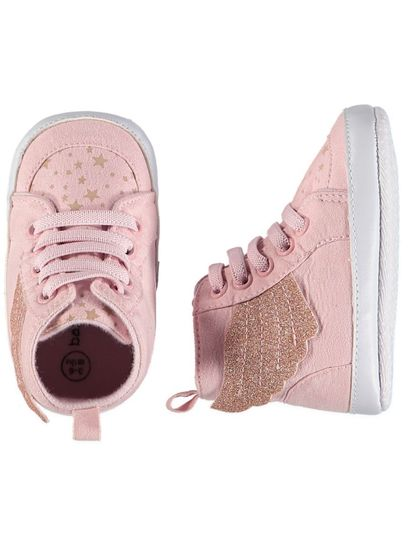 Baby Girl Soft Sole Wing High Top