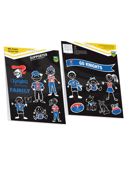 NRL FAMILY STICKERS