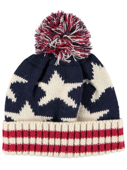 Toddler Boy Star Print Beanie