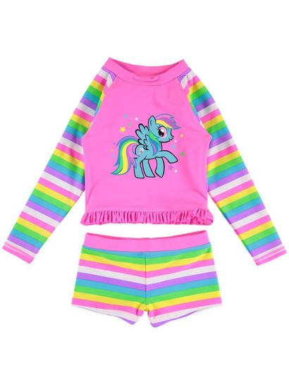 Toddler Girls My Little Pony Swim Set