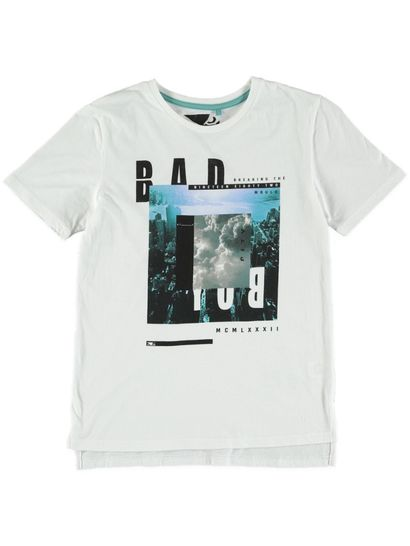 Boys Bad Boy Ss Photo Tee