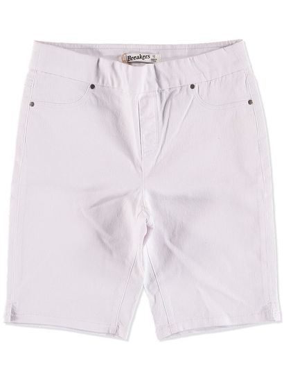 PULL ON DENIM SHORT WOMENS