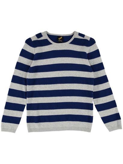 Boys Stripe Knit Sweater