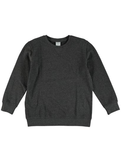 Boys Plain Fleece Sweater
