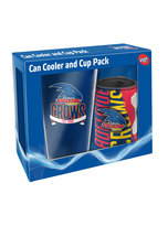 AFL GIDT PACK PLASTIC CUP AND STUBBY HOLDER