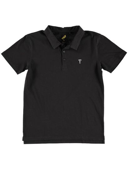 Boys Plain Ss Polo