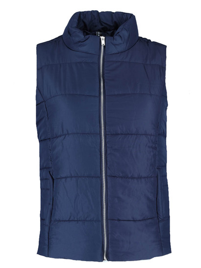Plus Zip Through Puffa Gilet Womens