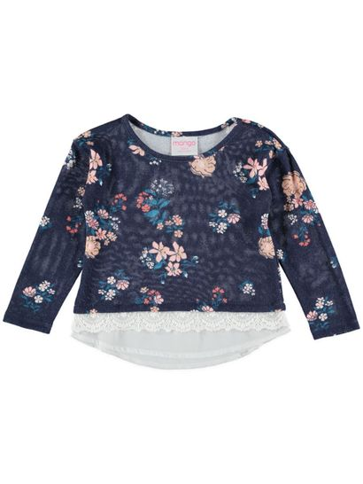 Toddler Girls Floral Top