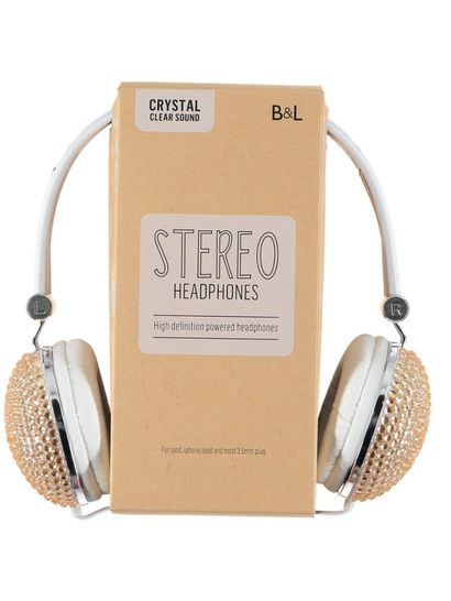 Girls Crystal Headphones