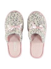 LDS HOTEL SLIPPER ANIMAL/ LEOPARD