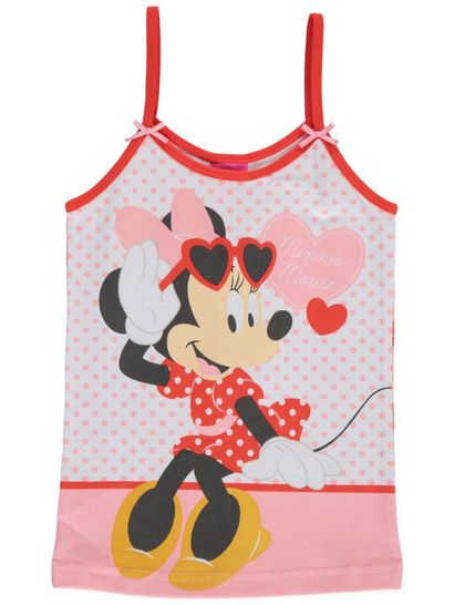 Girls Licence Singlet - Minnie Mouse