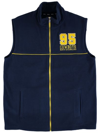Nrl Mens Polar Fleece Vest