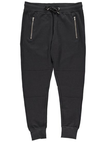 Mens Skinny Fashion Fleece Trackpants