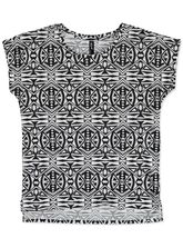 ALLOVER PRINT TEE WOMENS