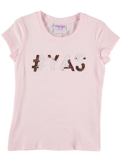 Girls Sequin T Shirt