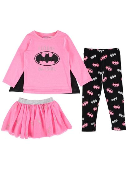 Toddler Girls Batgirl Set