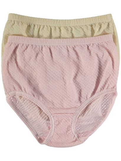 Full Brief Diamond Jacquard 2Pk Womens