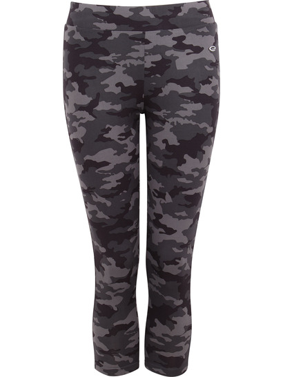 Womens Camo Printed Legging