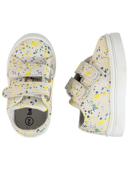Baby Boy Paint Splatter Shoe