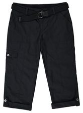 BELTED POPLIN CROPPED PANT WOMENS