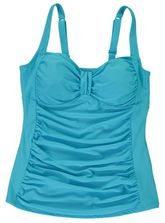 WOMENS PLUS TANKINI TOP