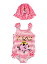 TODDLER GIRLS LITTLE MISS SWIMSET