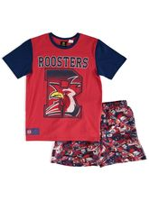 NRL YOUTH KNIT SATIN PJ