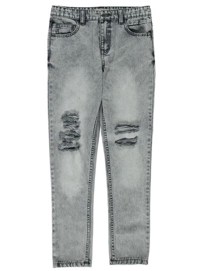 Boys Acid Wash Denim Jeans