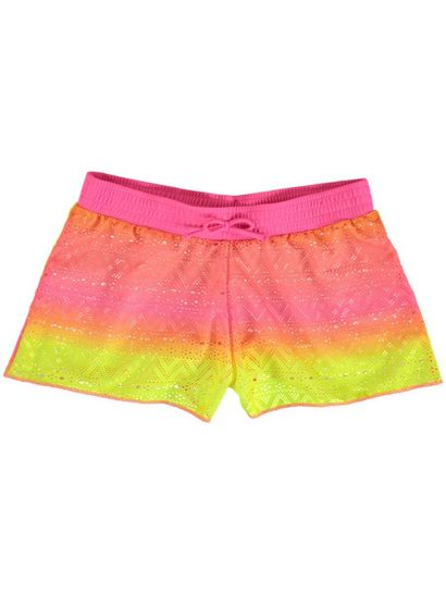 GIRLS PRINT BOARD SHORTS