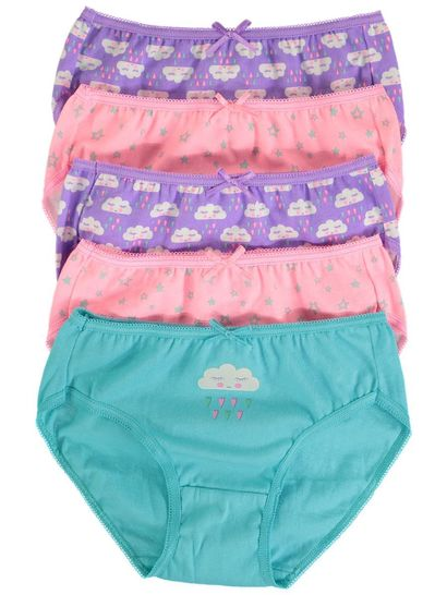 Girls 5-Pack Briefs