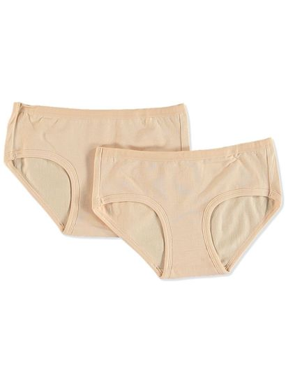 GIRLS BRIEF 2PK BOYLEG