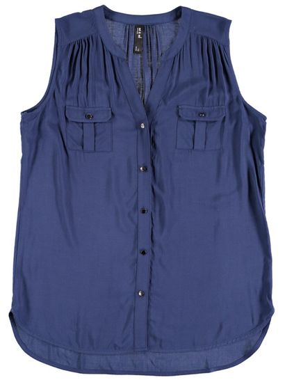 Plus Sleeveless Shirt Womens