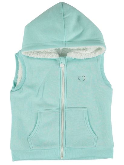 Girls Sherpa Fleece Vest