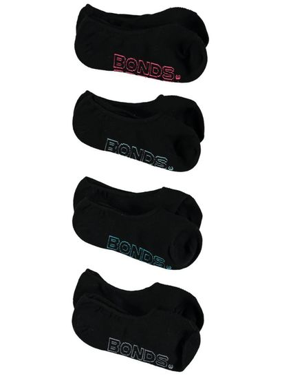 Bonds 4Pk Logo Light Socks