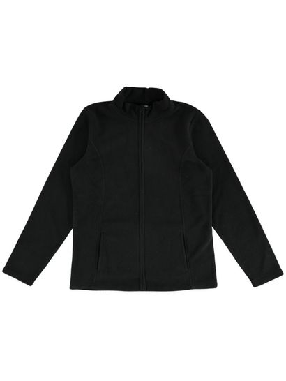 Plus Zip Polar Fleece Jacket Womens