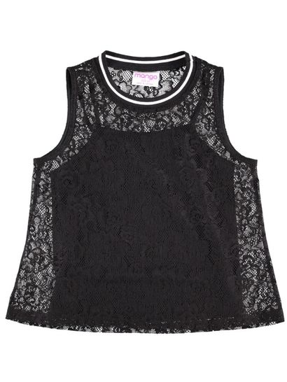 Girls Lace Tank