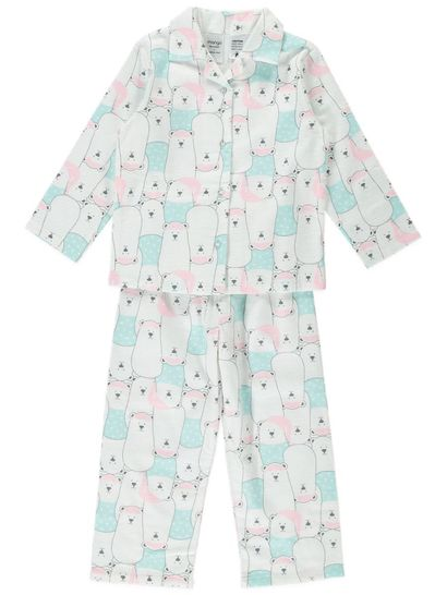 Girls Flannelette Pyjama Sets