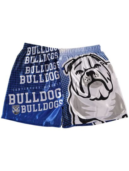 Mens Nrl Satin Boxer Short