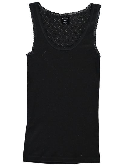 Thermal Vest Pointelle Womens