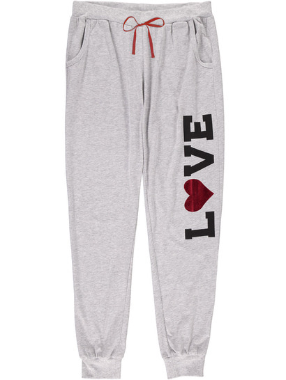 Long Jogger Pants Womens Sleepwear