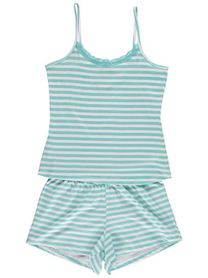 Cami And Short Pj Set