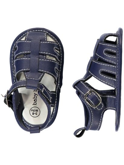BABY BOY CAGED SANDAL