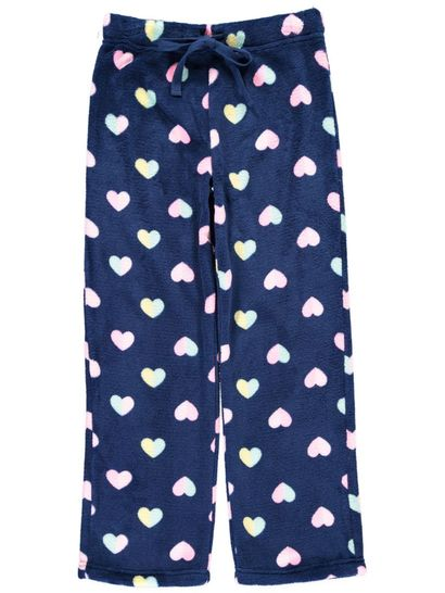 Girls Coral Fleece Sleep Pants